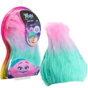 Trolls World Tour Troll-rific Satin Wig, Wigs, Ages 3 Up, by Just Play