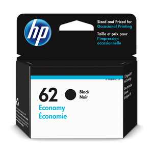 HP 62 Ink Cartridge, Black (1VV43AN)