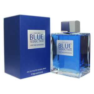 Antonio Banderas Blue Seduction Eau de Toilette, Cologne for Men, 6.75 Oz