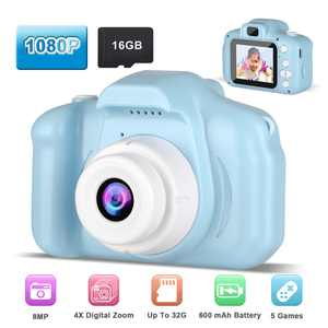 Kids Digital Camera, TSV Kids Toys for 3-10 Year Old Boys Girls, 1080P 2inch HD Children Cameras, Toddler Video Recorder, Rechargeable Camera, Best Birthday Toys (With 16GB SD Card)
