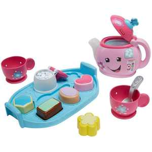 Fisher-Price Laugh & Learn Sweet Manners Play Tea Sets & Dishes, 10 Pieces