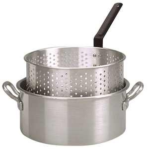 King Kooker #KK2 - Aluminum Fry Pan with Two Handles - 10 qt.