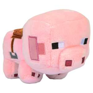 Minecraft Happy Explorer Saddle Pig Plush