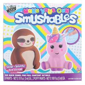 Make Your Own Foam Smushables Activity Kit | Sloth & Unicorn