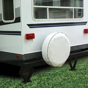 """Camco 45356 - Vinyl Colonial White 27"""" Spare Spare Tire Cover"""