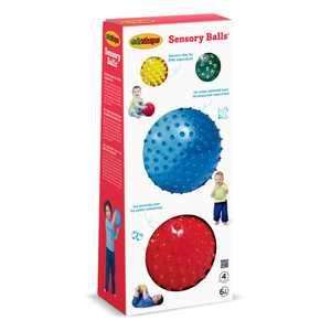 Edushape Sensory Ball Mega Pack, Pack of 4