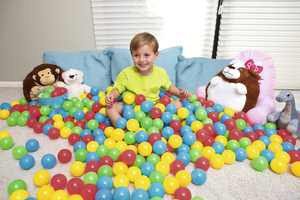 """Fisher-Price 2.2"""" Kids Multi-color Play Balls, 500 count"""