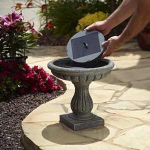 Smart Solar Aquanura Solar Birdbath Kit