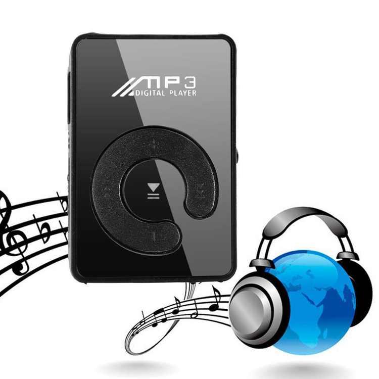 Lettore MP3 Player Mini Clip USB FM RadioSupporta MicroSD 32GB Scheda Verde Onli