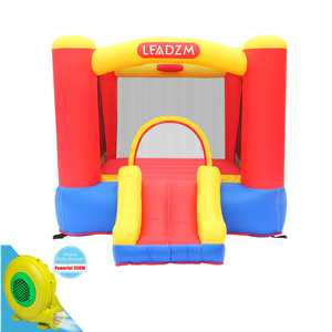 Zimtown Inflatable Bounce House Kids Small Jumper Bouncer with UL Certified Air Blower