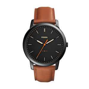 Fossil Men's Minimalist Three-Hand Leather Watch (Style: FS5305)