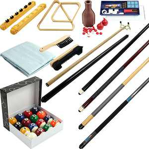 32-Piece Billiards Accessories Kit for Pool Table