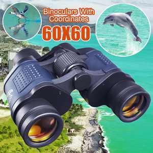 Professional HD 60x60 Military Army Optics Zoom Binoculars Day/Night Telescope, Christmas Gift