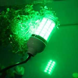 Mgaxyff LED Fishing Light,Underwater Fishing Light,LED Night Fishing Light Underwater Submersible Marine Boat Green Lamp Fishing Accessory