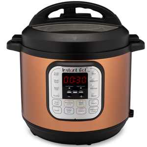 Instant Pot Duo 6-Quart Copper Stainless 7-in-1 Multi-Use Programmable Pressure Cooker, Slow Cooker, Rice Cooker, Saut, Steamer, Yogurt Maker and Warmer