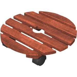 Panacea 150 Lb. Capacity 14 In. Wood Plant Caddy 84749