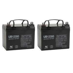 12V 35AH Sealed Lead Acid (SLA) Battery for UB12350 Invacare Pronto M50 M6 M71 - 2 Pack