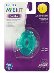 Avent Soothie Pacifier (0-3M)
