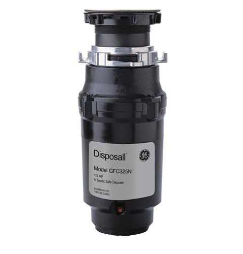 GE 1/3 HP Continuous Feed Garbage Disposer - Corded, GFC325N