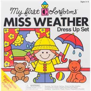 Colorforms(R) Classic Miss Weather Re-Stickable Sticker Set