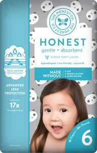 The Honest Company Diapers Pandas Size 6