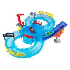 Adventure Force Shark Strike Water Raceway Play Set