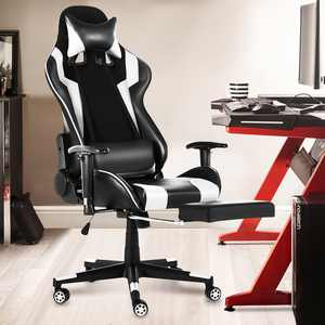 Racing Style Gaming Chair,High-Back Office Chair,90-180 Lying PC Gaming Chair,Breathable Height Adjustment Desk Chair with Footrest for Adults Teens