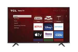 "TCL 55"" Class 4-Series 4K UHD HDR Roku Smart TV  55S431"