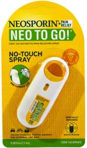Neosporin + Pain Relief Neo To Go! Spray 0.26 oz