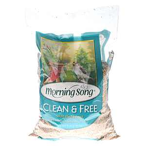 Morning Song Clean and Free Wild Bird Food, 5 Lbs.