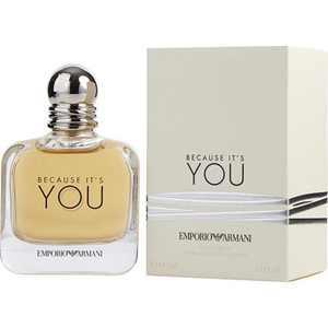 Giorgio Armani Because It's You Eau de Parfum, Perfume for Women, 3.4 Oz