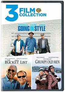 Going In Style/The Bucket List/Grumpy Old Men (DVD)