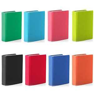 Stretchable Jumbo Book Cover ~ Set of 3 Assorted, Three Jumbo Stretchable Book Covers By It's Academic