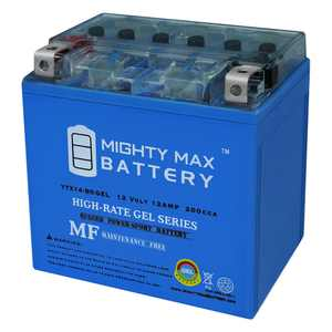 YTX14-BS GEL Battery Replaces Mercedes Backup Auxiliary 2115410001