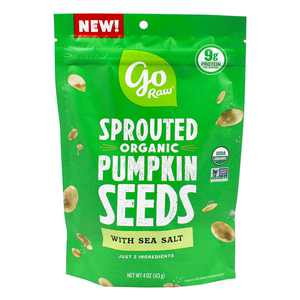 Go Raw - Sprouted Organic Pumpkin Seeds with Sea Salt - 4 oz.
