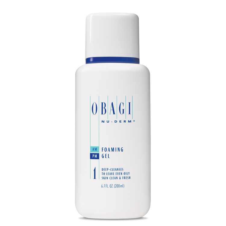 Obagi Nu-Derm Foaming Gel Face Wash for Normal to Oily Skin Types, 6.7 oz