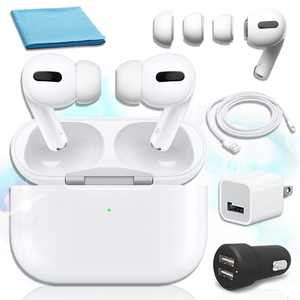 Apple AirPods Pro with Wireless Charging Case in White