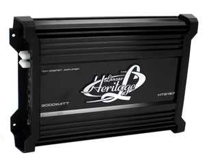 Lanzar HTG157 3000W Mono MOSFET Car Audio Power Amplifier Amp Stereo with 2 Ohm