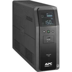 APC UPS Battery Backup Surge Protector, 1500VA Uninterruptible Power Supply, Back-UPS Pro (BN1500M2)