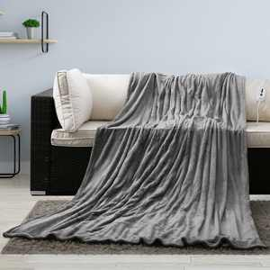 """MaxKare Electric Heated Blanket Twin Size 62"""" x 84"""" Large Heating  Blanket with 4 Heating Levels & Timer 10 Hours Auto Off, Machine Washable, Warm Comfort Blanket for Home Office Bed Sofa"""