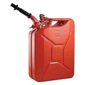 WAVIAN 2238C 5.28 gal, 20 L Red Cold rolled steel Gas Can