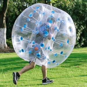 Transparent 0.8mm PVC Inflatable Bumper Ball Entertainment Human Knocker Ball Bubble Soccer Football