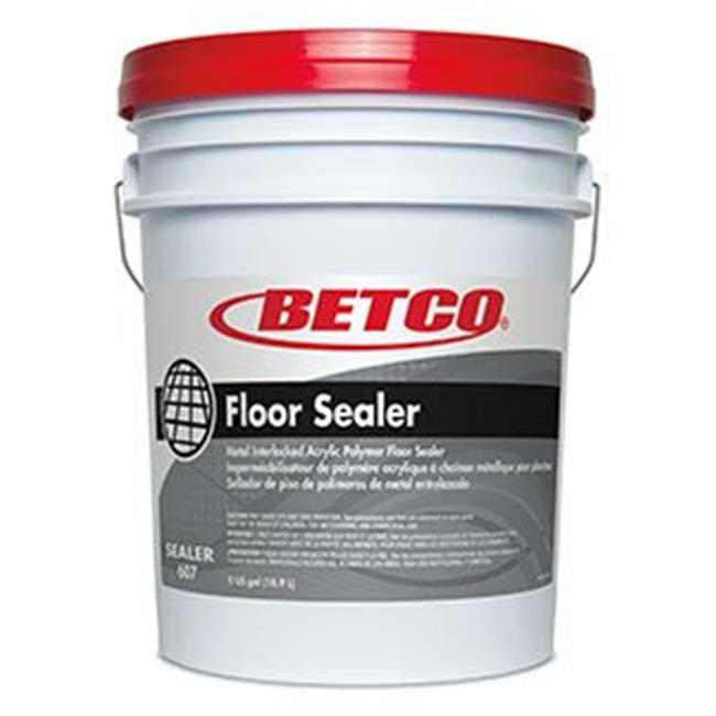 Betco 6070500 PEC 5 gal Pail Metal Interlocked Acrylic Polymer Floor Sealer