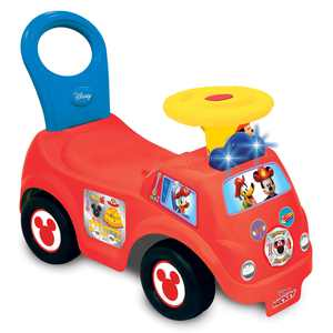 Kiddieland Toys Limited - Lights n' Sounds Mickey Fire Engine Ride-On