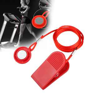 Treadmill Round Safety Key, TSV Magnetic Treadmill Safety Lock Safety Switch with Strong Clip for Most Treadmills