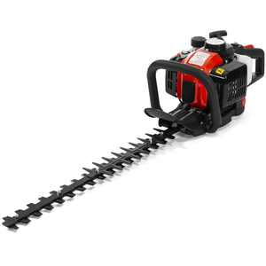 """XtremepowerUS 24"""" in 26cc 2-Cycle Gas Hedge Trimmer Double-Sided Blades"""