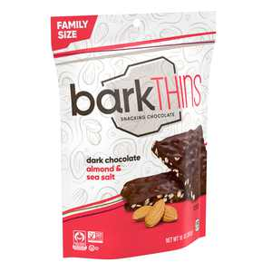 barkTHINS, Dark Chocolate Almond with Sea Salt, 10 Oz.