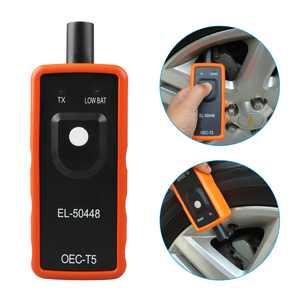 TSV EL 50448 Automotive Tire Pressure Reset Car Vehicle Auto Monitor Sensor TPMS Relearn Reset Activation Tool for GM Series EL-50448