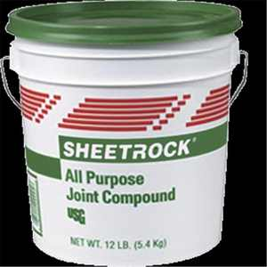 United States Gypsum 385140004 3.5 Qt All Purpose Joint Compound Green Lid