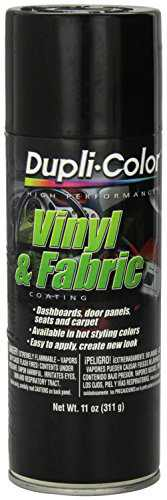 Krylon HVP104 Gloss Black Vinyl And Fabric Coating 11 Oz. Aerosol